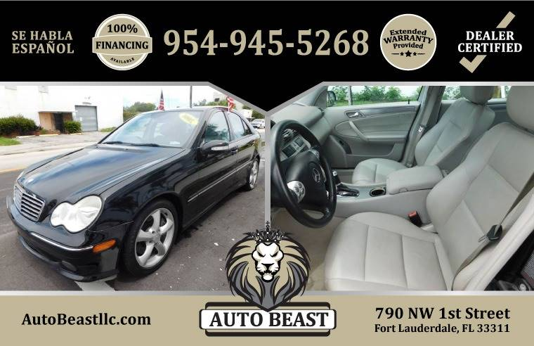 2006 Mercedes Benz C Class For Sale At Auto Beast In Fort Lauderdale FL