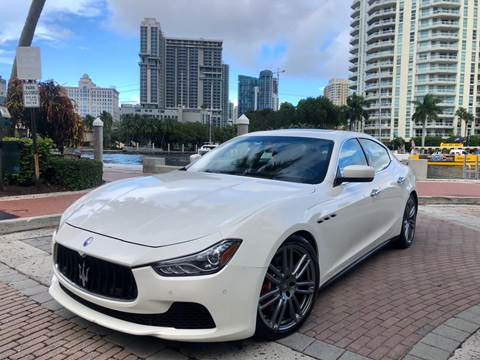 2014 Maserati Ghibli for sale in Fort Lauderdale, FL