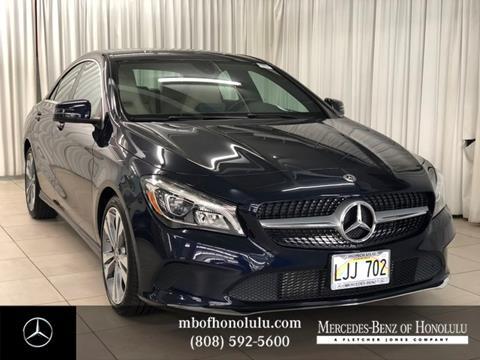 2018 Mercedes-Benz CLA for sale in Honolulu, HI