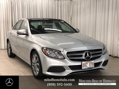 2016 Mercedes-Benz C-Class for sale in Honolulu, HI