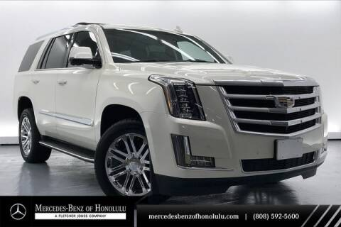 2015 Cadillac Escalade for sale at Mercedes Benz of Honolulu in Honolulu HI