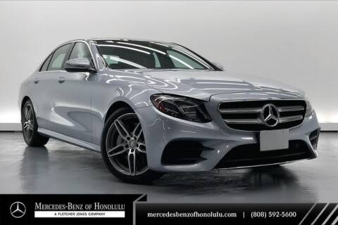 2017 Mercedes-Benz E-Class E 300 for sale at Mercedes Benz of Honolulu in Honolulu HI