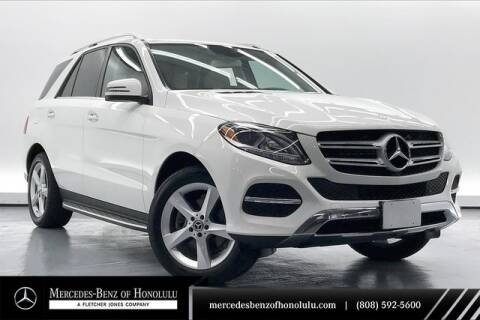2017 Mercedes-Benz GLE GLE 350 for sale at Mercedes Benz of Honolulu in Honolulu HI
