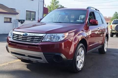 2009 Subaru Forester for sale at L&J AUTO SALES in Birdsboro PA