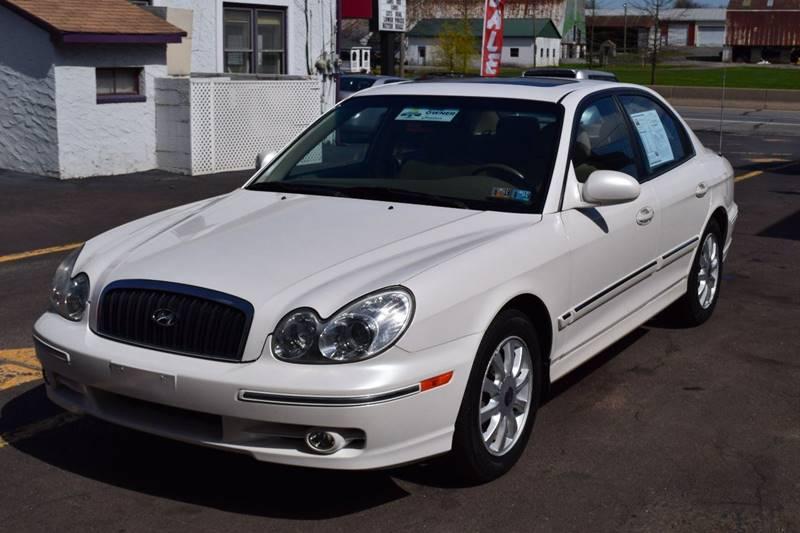 2003 Hyundai Sonata For Sale At Lu0026J AUTO SALES In Birdsboro PA