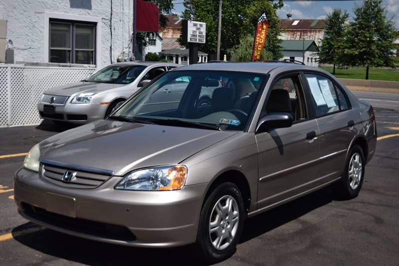 2001 Honda Civic For Sale At Lu0026J AUTO SALES In Birdsboro PA