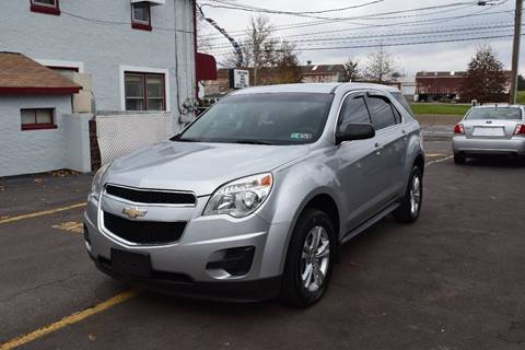 2011 Chevrolet Equinox for sale at L&J AUTO SALES in Birdsboro PA