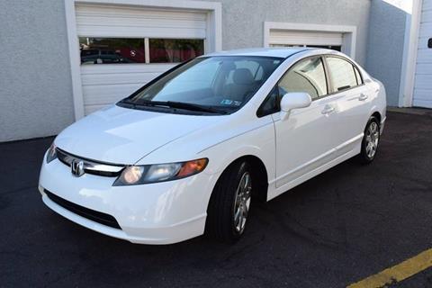 2007 Honda Civic for sale at L&J AUTO SALES in Birdsboro PA