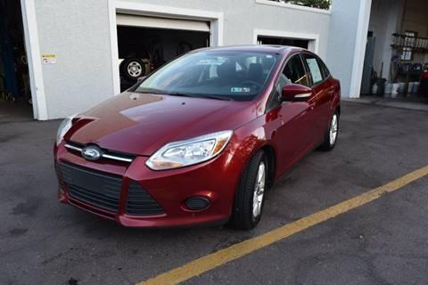 2014 Ford Focus for sale at L&J AUTO SALES in Birdsboro PA