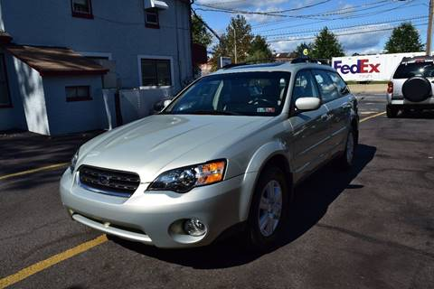 2005 Subaru Outback for sale at L&J AUTO SALES in Birdsboro PA