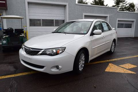 2008 Subaru Impreza 2.5i for sale at L&J AUTO SALES in Birdsboro PA