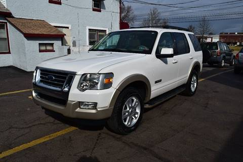 2008 Ford Explorer Eddie Bauer for sale at L&J AUTO SALES in Birdsboro PA
