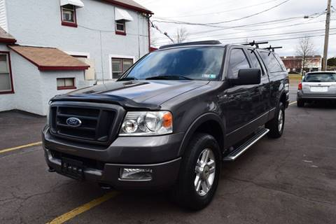 2005 Ford F-150 FX4 for sale at L&J AUTO SALES in Birdsboro PA