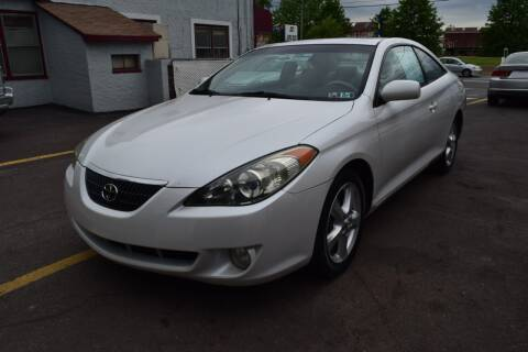 2004 Toyota Camry Solara for sale at L&J AUTO SALES in Birdsboro PA