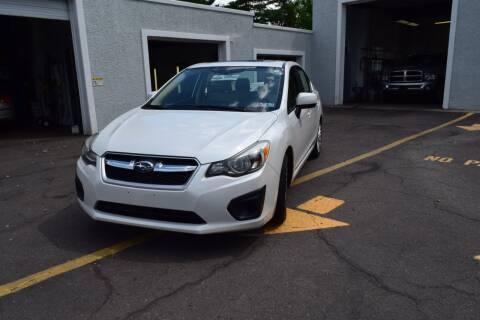 2012 Subaru Impreza for sale at L&J AUTO SALES in Birdsboro PA