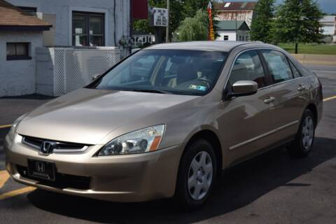 2003 Honda Accord for sale at L&J AUTO SALES in Birdsboro PA