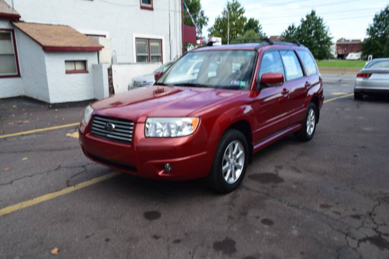 2006 Subaru Forester for sale at L&J AUTO SALES in Birdsboro PA