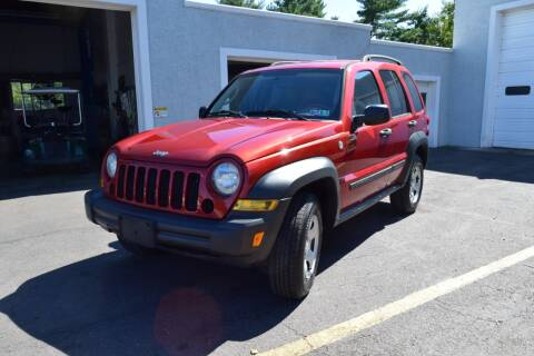2007 Jeep Liberty for sale at L&J AUTO SALES in Birdsboro PA