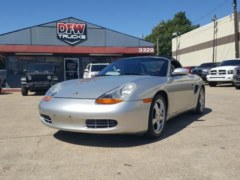 2002 Porsche Boxster for sale in Garland, TX