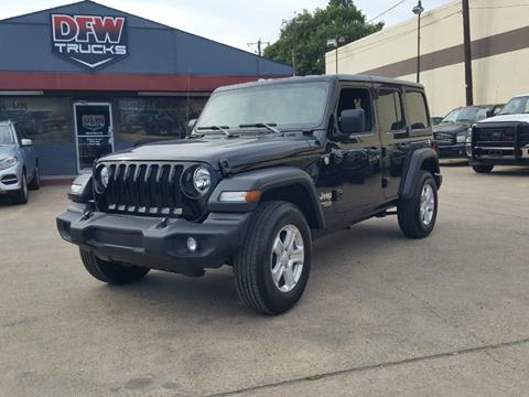 2019 Jeep Wrangler Unlimited for sale in Garland, TX