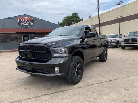 2014 RAM Ram Pickup 1500 for sale at DFW Trucks in Garland TX