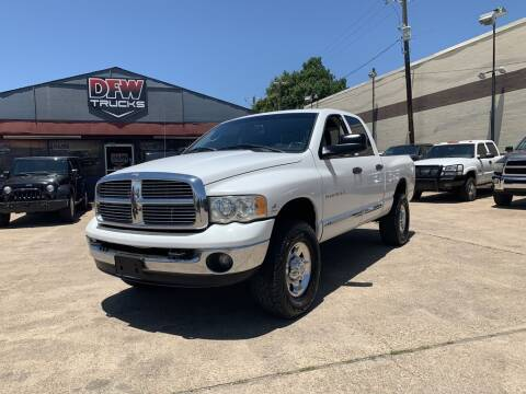 2005 Dodge Ram Pickup 2500 for sale at DFW Trucks in Garland TX