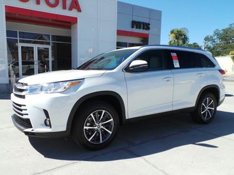 2019 Toyota Highlander For Sale At Pitts Toyota In Dublin GA