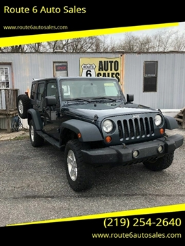 2008 Jeep Wrangler Unlimited for sale in Portage, IN