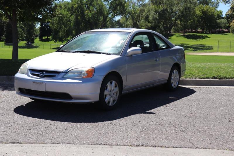 2002 Honda Civic For Sale At Americano Auto Sales LLC In Denver CO