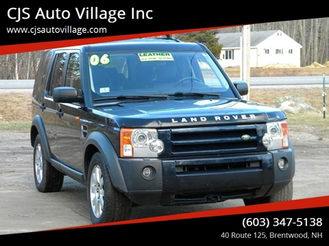 2006 Land Rover LR3 for sale in Brentwood, NH