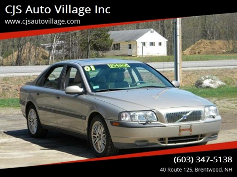 2001 Volvo S80 For Sale In New Hampshire Carsforsale