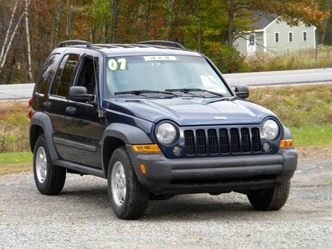 2007 Jeep Liberty for sale in Brentwood, NH