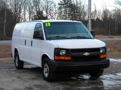 2013 Chevrolet Express Cargo for sale in Brentwood, NH