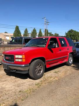 1996 GMC Yukon for sale in Independence, OR