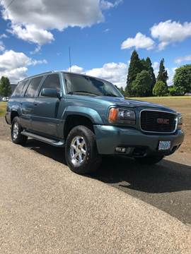 1999 GMC Yukon for sale in Independence, OR