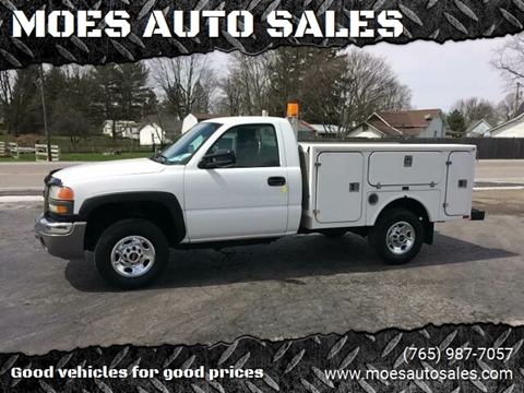 2007 GMC Sierra 2500HD for sale at MOES AUTO SALES in Spiceland IN