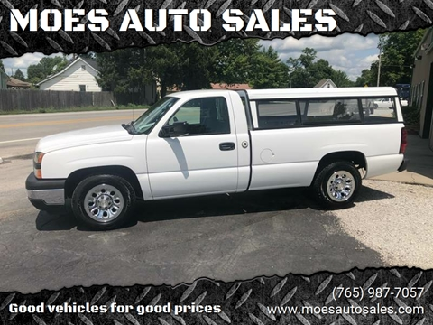 2006 Chevrolet Silverado 1500 for sale at MOES AUTO SALES in Spiceland IN