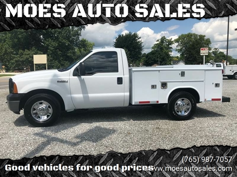 2006 Ford F-250 Super Duty for sale at MOES AUTO SALES in Spiceland IN