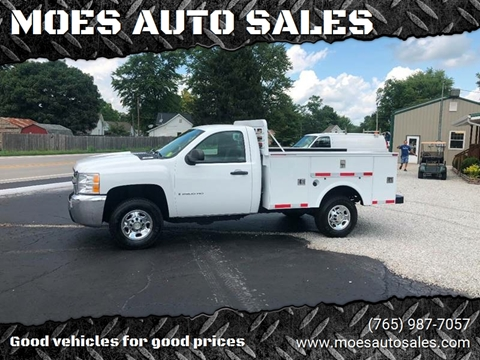 2008 Chevrolet Silverado 2500HD for sale at MOES AUTO SALES in Spiceland IN