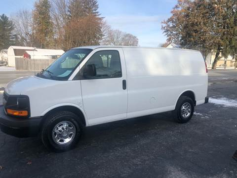 2011 Chevrolet Express Cargo for sale at MOES AUTO SALES in Spiceland IN