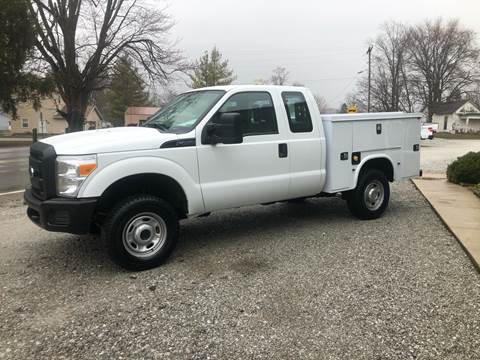 2012 Ford F-250 Super Duty for sale at MOES AUTO SALES in Spiceland IN