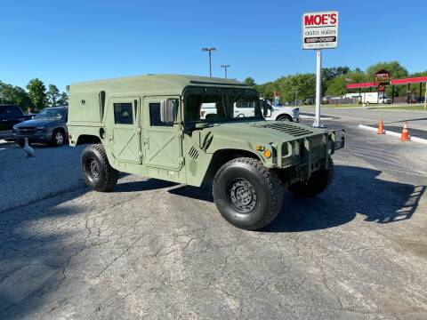 1989 AM General Hummer for sale at MOES AUTO SALES in Spiceland IN