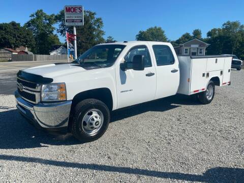 2012 Chevrolet Silverado 3500HD for sale at MOES AUTO SALES in Spiceland IN