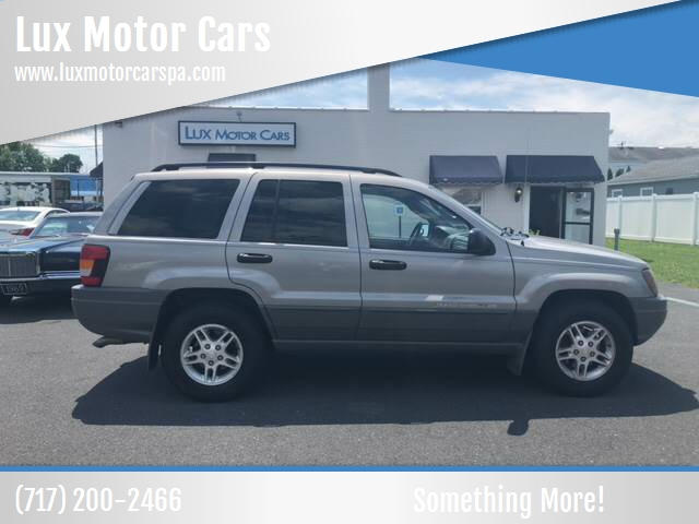 2002 Jeep Grand Cherokee For Sale At Lux Motor Cars In Mechanicsburg PA