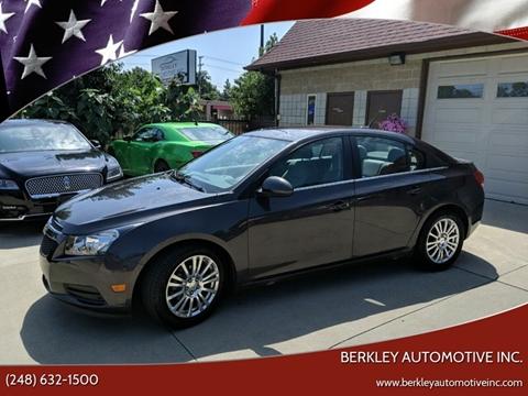 2014 Chevrolet Cruze for sale in Berkley, MI