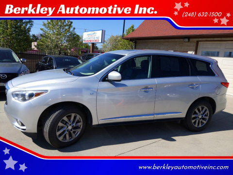 2015 Infiniti QX60 for sale at Berkley Automotive Inc. in Berkley MI
