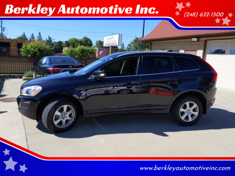 2012 Volvo XC60 for sale at Berkley Automotive Inc. in Berkley MI