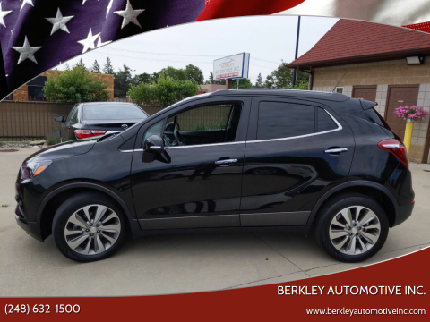 2017 Buick Encore for sale at Berkley Automotive Inc. in Berkley MI
