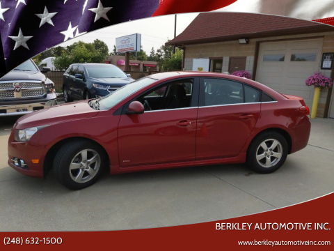 2014 Chevrolet Cruze for sale at Berkley Automotive Inc. in Berkley MI
