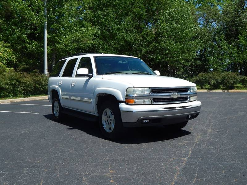 2004 Chevrolet Tahoe for sale at Zed Motors in Raleigh NC
